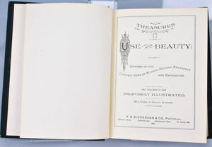 Treasures of Use and Beauty by Various 1883