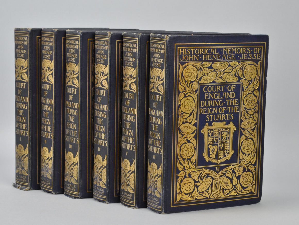 Memoirs of the Court of England by John Heneage Jesse 1901