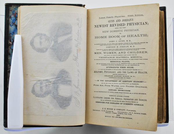 Gunn and Jordan's Newest Revised Physician by by John Gunn 1890