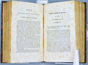 The North American Review Signed Samuel Jarvis 1829