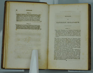 Memoirs of Napoleon Bonaparte by M De Bourrienne 1843