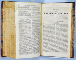 The Atheneum or Spirit Of The English Magazines Vol 5 Apr to Oct 1819