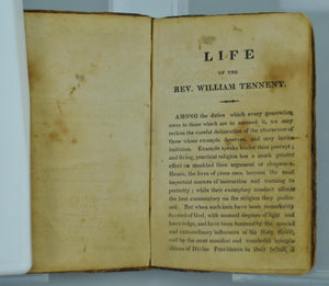 Memoirs of the Life of the Rev. William Tennent Trance Account 1815