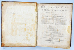 A New System of Modern Geography by William Guthrie 1794