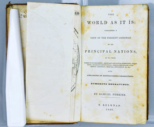 The World As It Is Containing a View of Principal Nations by Samuel Perkins 1836