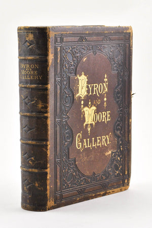 The Byron and Moore Gallery A Series of Characteristic Illustrations 1871