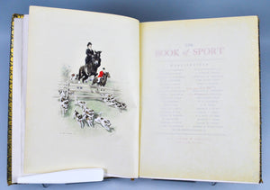 The Book of Sport Vol I Autographed Edition 35 of 50 1903