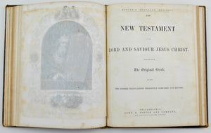 The Holy Bible John E Potter and Company Salesman Sample Late 1800s
