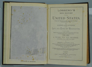 Lossing's new history of the United States by Benson J Lossing 1889