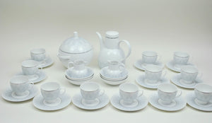 Rosenthal German Studio Line Gray Lotus Pergola China Set 22 pcs Bjorn Wiinblad