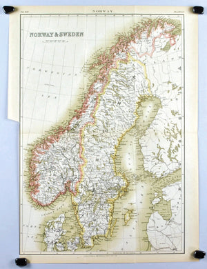 1884 Sweden & Norway - Britannica