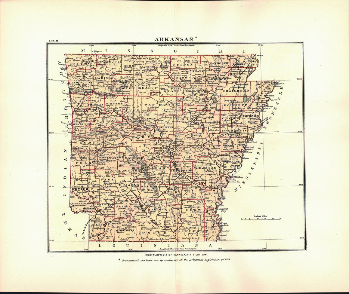 1875 Arkansas - Britannica