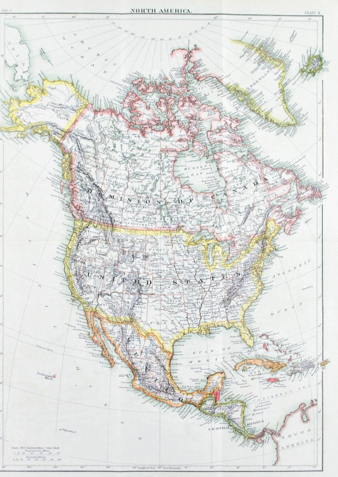 1875 North America - Britannica