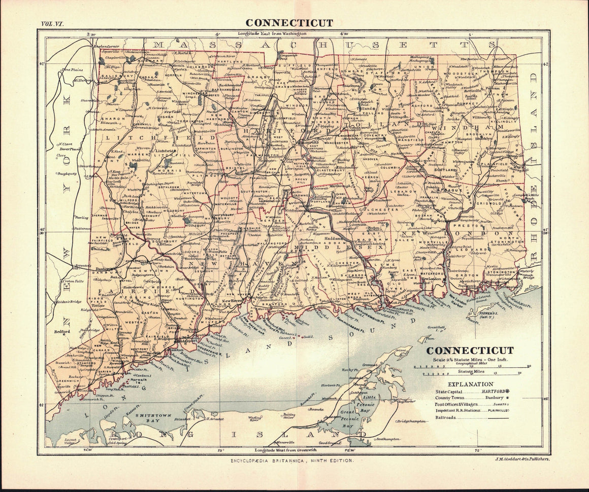 1877 Connecticut - Britannica