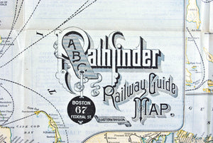 1890 ABC Pathfinder Railway Guide