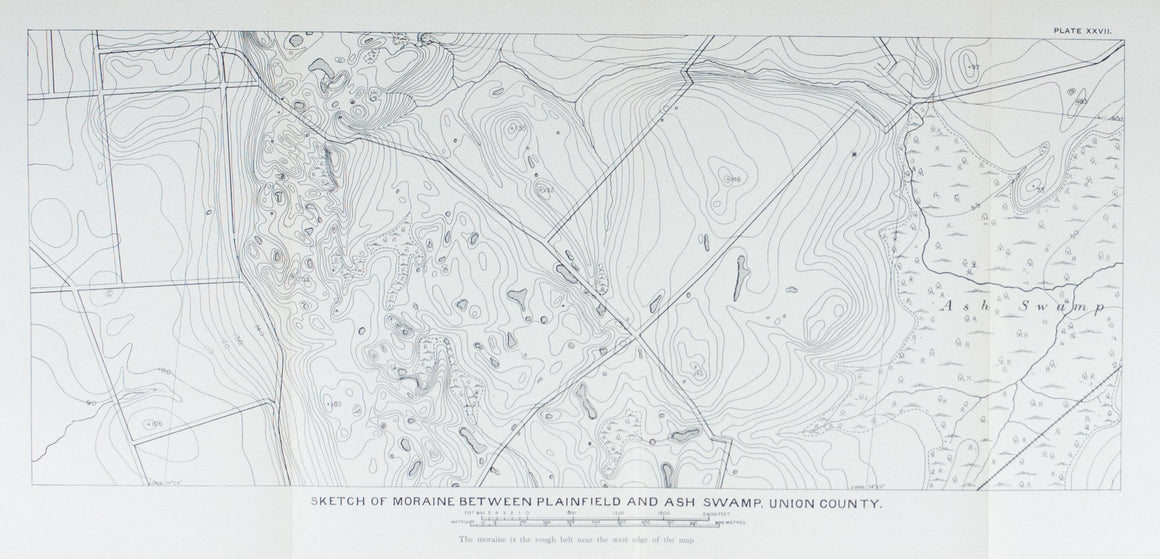 1902 Moraine Between Plainfield and Ash Swamp, Union County
