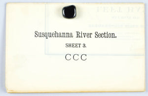 Susquehanna River Lancaster County Pennsylvania Antique Map 1880