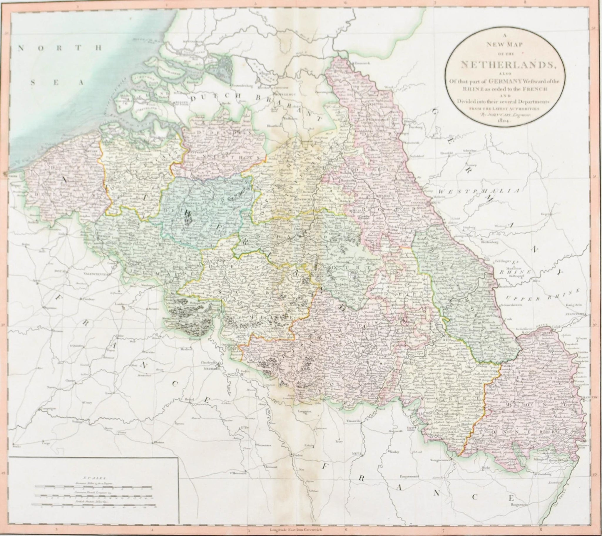 Maps Europe Tagged Netherlands Historic Accents