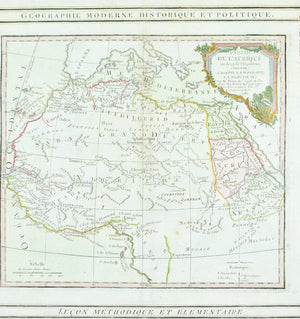 1786 Egypt, West Africa and the Barbary Coast - Louis Charles Desnos