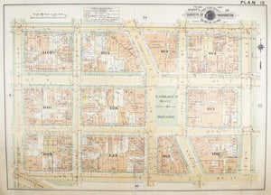 1957 Washington DC Plan 15 - Baist