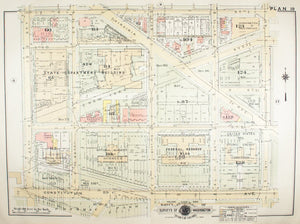 1957 Washington DC Plan 10 - Baist