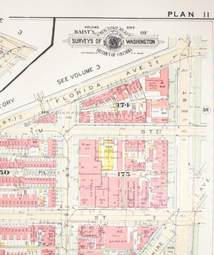 1957 Washington DC Plan 11 - Baist