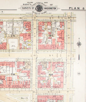 1957 Washington DC Plan 8 - Baist