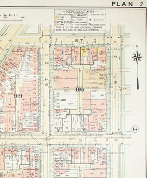 1957 Washington DC Plan 7 - Baist