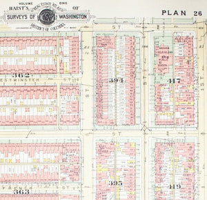 1957 Washington DC Plan 26 - Baist