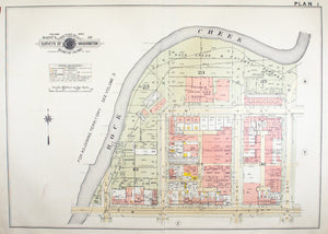 1957 Washington DC Plan 1 - Baist