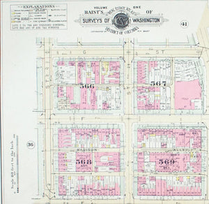 1957 Washington DC Plan 42 - Baist