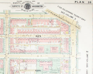 1957 Washington DC Plan 39 - Baist