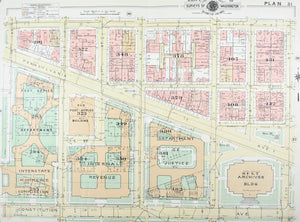1957 Washington DC Plan 31 - Baist