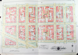 1957 Washington DC Plan 28 - Baist