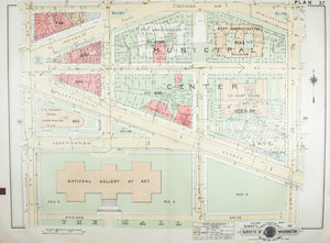 1957 Washington DC Plan 37 - Baist