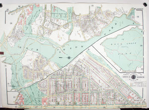 1960 Washington DC Plan 27 - Baist