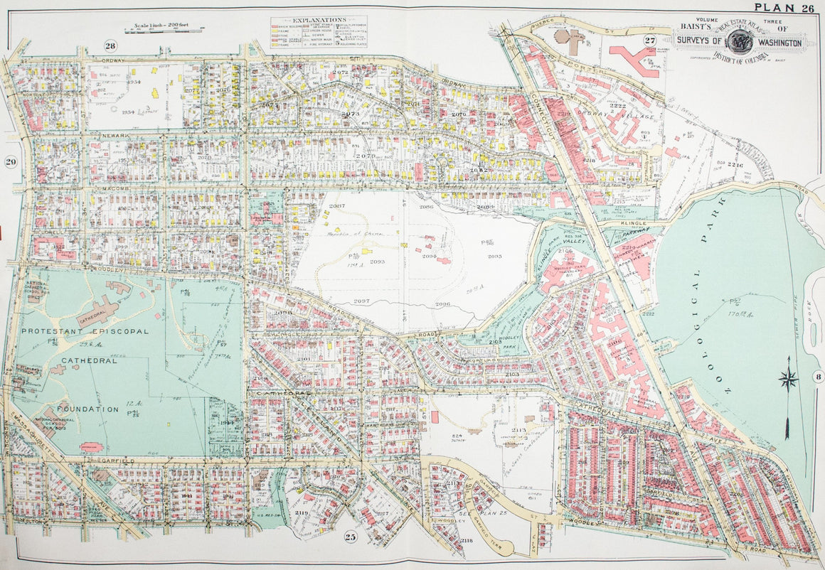 1960 Washington DC Plan 26 - Baist
