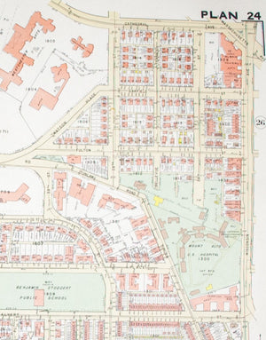 1960 Washington DC Plan 24 - Baist