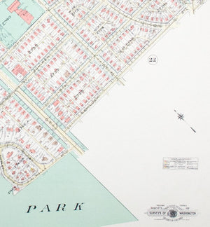 1960 Washington DC Plan 37 - Baist