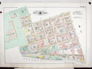1960 Washington DC Plan 2 - Baist