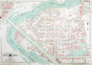 1960 Washington DC Plan 5 - Baist