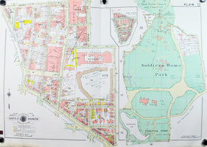 1960 Washington DC Plan 17 - Baist