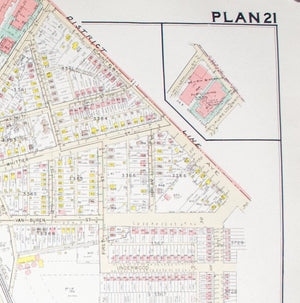 1960 Washington DC Plan 21 - Baist