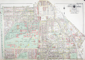 1960 Washington DC Plan 22 - Baist