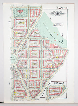 1960 Washington DC Plan 35 - Baist