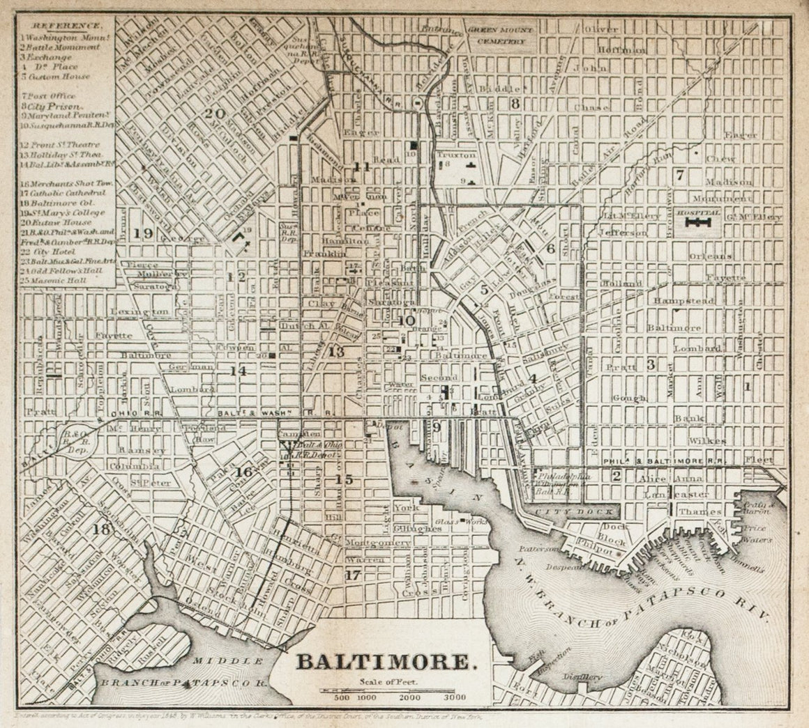 1867 Baltimore - Edward Hall