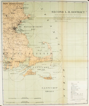 1900 Second Lighthouse District - US Light-House Board