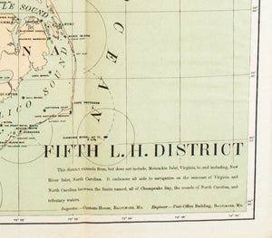 1900 Fifth Lighthouse District - US Light-House Board