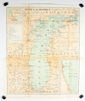 1900 Ninth Lighthouse District - US Light-House Board