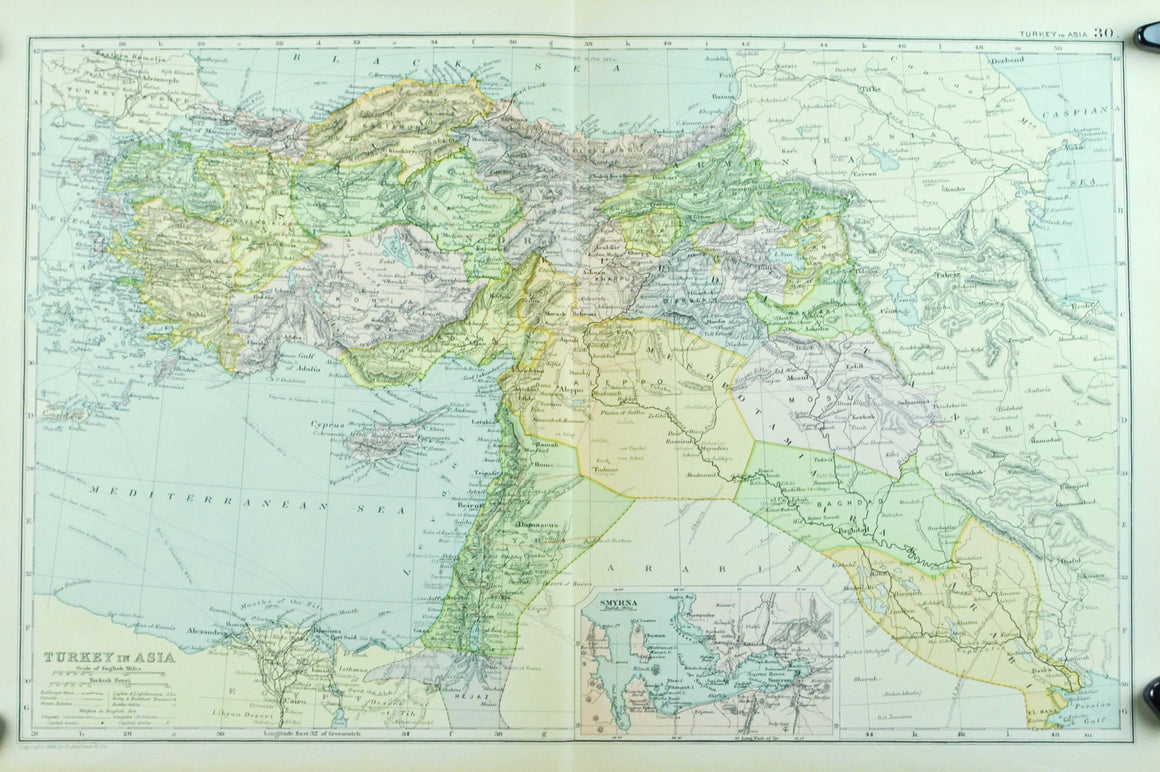 1891 Turkey in Asia